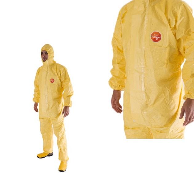 Hình ảnh Quần áo chống hóa chất Tychem C