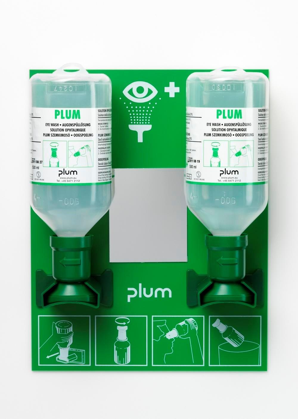 Hình ảnh Chai rửa mắt khẩn cấp Plum 4694